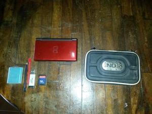Nintendo Ds Lite Juegos Estuche Dos Lapices Opticos Cargador