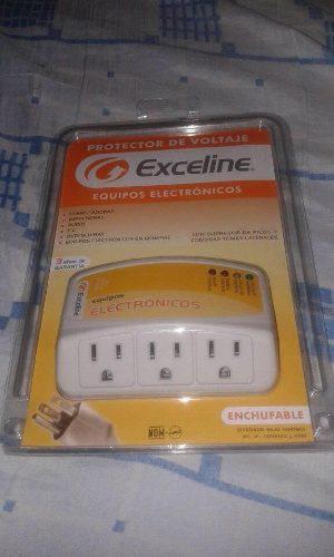 Protector De Voltaje Exceline Para Tv Pc Y Mas Electrónicos