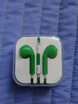 Audifonos Universales Color Verde