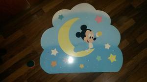 Figuras En Relieve Mini Mickey Mouse Y Cars