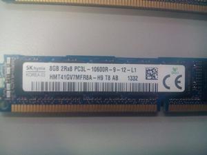 Memoria 8gb Pc3l r