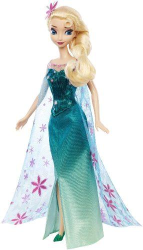 Muñeca Disney Frozen Elsa Original Mattel 30 Cm
