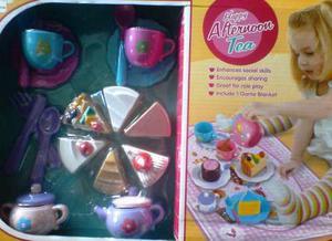 Set De Te Y Pastel De Juguete Cocina Para Niños Y Niñas