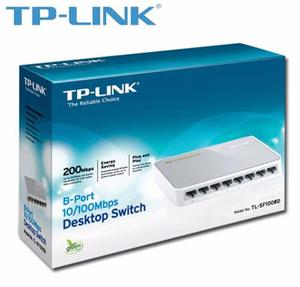 Switch Tp-link 8 Puertos Tl-sfd  Rj45 Red Xtc