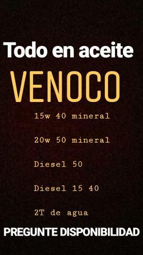 Aceite 20w 50 Mineral Venoco