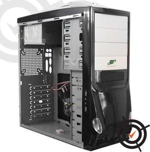 Case Pc Atx Grado A Usb Audio Con Fuente De Poder 500w Alld