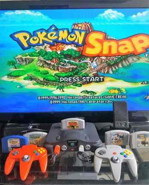 Consola Nintendo 64 Original + Control + Juego + Garantia