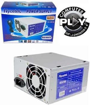 Fuente De Poder 650w Atx Para Pc  Pines Sata-ide*tienda