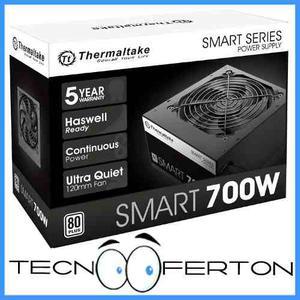 Fuente Poder Thermaltake 700w Certificada 80 Plus Nuevas