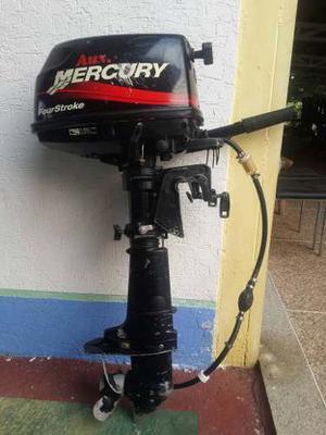 Motor Para Lancha Mercury Fuera De Borda 5hp 4 Tiempos