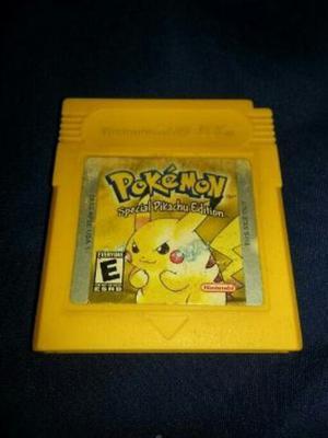 Juego Game Boy Pokemon Special Pikachu