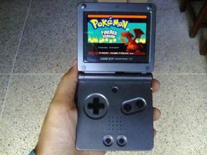 Nintendo Game Boy Advance Sp Ags 101 + Pokemon Firered