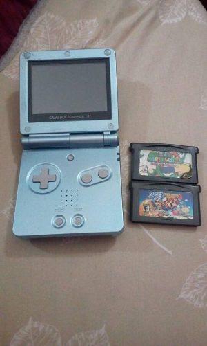 Nintendo Game Boy Sp + 2 Juegos De Mario
