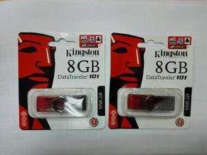 Pendrive Kingston De 8 Gb Nuevos