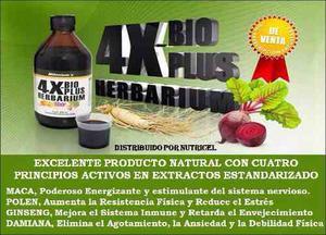 4x Bioplus Herbarium, Nutricel Productos Naturales
