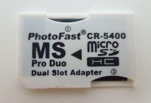 Adaptador Micro Sd A Memory Stick Pro Duo