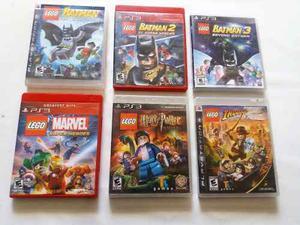 Lego Juegos Fisicos Infantiles Para Playstation 3 Ps3