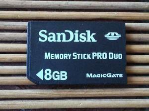 Memoria Sandisk Pro Duo 8gb