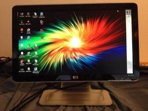 Monitor Hp 18.5usado, Posee Cornetas Integradas