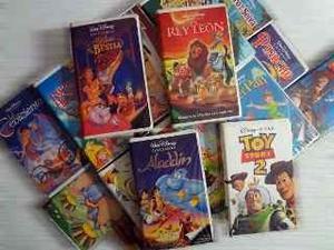 Vendo Coleccion De Peliculas Vhs Disney