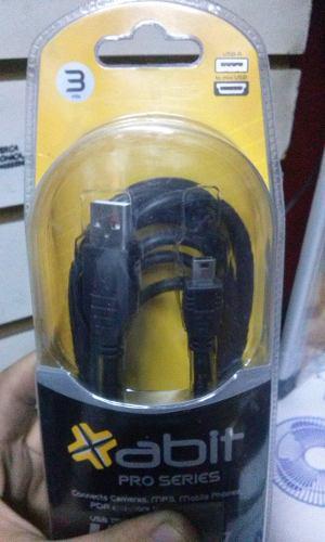 Cable Usb A Mini Usb Abit -  Mts Nuevo Oferta