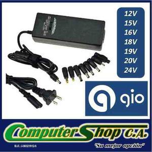 Cargador Universal Para Laptop / 90w / Pared / Gio G90