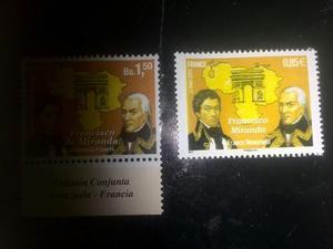 Emisión Francisco De Miranda