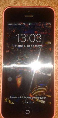 Iphone 5c De 16 Gb Libre De Icloud. En Muy Buen Estado
