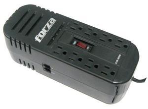Protector Regulador De Voltaje Corriente 8 Tomas Forza