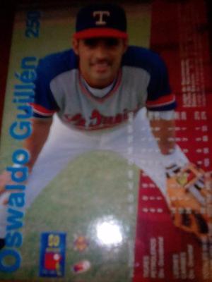 Barajita De Beisbol Lvbp Oswaldo Guillen