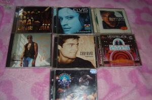 Cd's De Chayanne + Ricky Martin + Otros