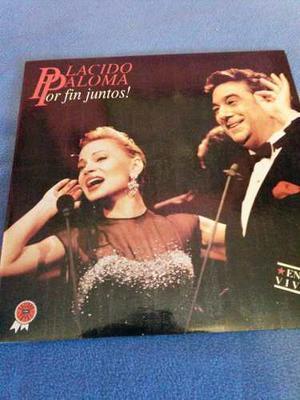 Disco De Vinyl De Placido Domingo Y Paloma San Bacilio