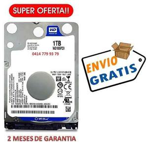Disco Duro Laptop 1tb Western Digital Blue Slim Envio Gratis