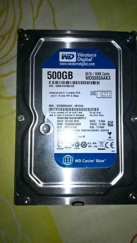 Disco Duro Western Digital 500 Gb Para Respuestos