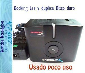 Docking Estacion Disco Duro  Hdd Sdd Sata Usb 3.0
