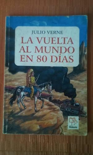 Libro La Vuelta Al Mundo En 80 Dias Ilustrado Panapo