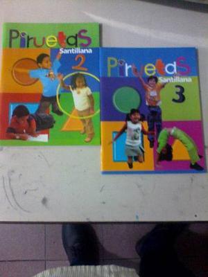 Libro Pireutas 2 Y 3 Editorial Santillana