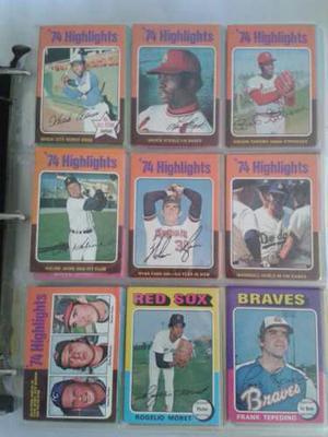 Set De Barajitas De Baseball Toops