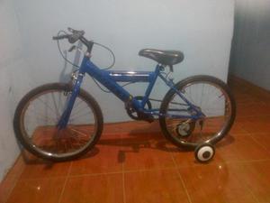 bicicleta marca greco rin 20 color azul