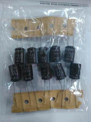 Condensadores 680uf/6.3v Paquete De 5 Piezas
