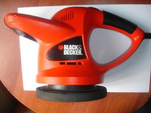Enceradora Pulidora De Orbita Aleatoria Black And Decker