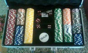 Maletín Poker 300 Fichas