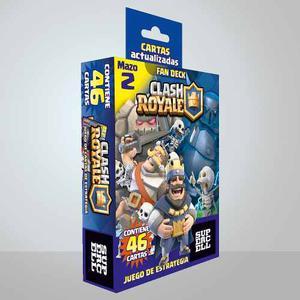 Mazo 46 Cartas Clash Royale Fan Deck Actualizadas Mod 1y2