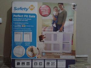 Puerta Reja Seguridad Bebes Mascotas - Safety Nueva En Caja