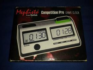 Reloj Ajedrez Saitek Cronometro De Competicion