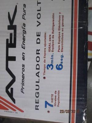 Rls  Regulador De Voltaje Avtek 120v