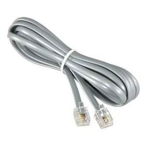 Cable-telefónico De 2, 4, 6 Mts Con Conector Rj11 Nuevo