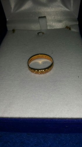 Anillo De Matrimonio En Venta Ro 18k Pesa 2.3 Gramos