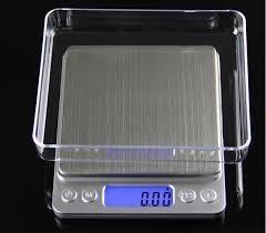Balanza Digital Milesimas Oro 500 Gr Alta Precision Acero