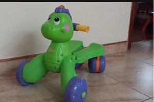 Caminadora Dinosaurio Fisher Price Usado En Buen Estado